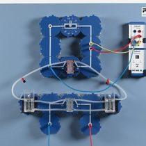 Kompletny zestaw eksperymentalny: Sprawność Faraday'a i sprawność energetyczna ogniwa paliwowego PEM