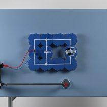 Kompletny zestaw eksperymentalny: Przechowywanie energii elektrycznej pochodzącej z energii wiatrowej za pomocą kondensatora