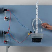Kompletny zestaw eksperymentalny: Pompowanie wody z wykorzystaniem energii wiatru