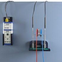 Kompletny zestaw eksperymentalny: Modelowe doświadczenie dotyczące wykorzystania energii wewnętrznej otoczenia za pomocą pompy ciepła Peltiera