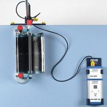 Kompletny zestaw eksperymentalny: Ogrzewanie wody za pomocą rynny parabolicznej