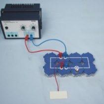 Kompletny zestaw eksperymentalny: Ogniwo słoneczne jako dioda