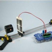 Kompletny zestaw eksperymentalny: Magazynowania energii elektrycznej ogniwa słonecznego za pomocą akumulatora