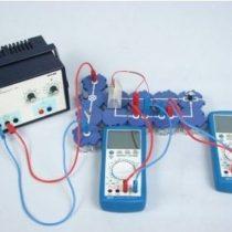 Kompletny zestaw eksperymentalny: Charakterystyka prądowo-napięciowa ogniwa słonecznego