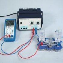 Kompletny zestaw eksperymentalny: Wytwarzanie wodoru i tlenu za pomocą elektrolizera PEM
