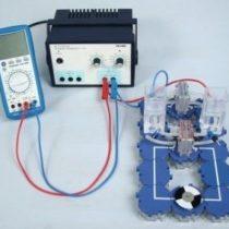 Kompletny zestaw eksperymentalny: Wytwarzanie energii elektrycznej za pomocą ogniw paliwowych PEM