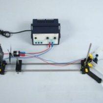 Kompletny zestaw eksperymentalny: Pompowanie wody z wykorzystaniem energii wiatrowej