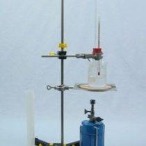 Kompletny zestaw eksperymentalny: Współczynnik rozszerzalności cieczy