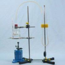 Kompletny zestaw eksperymentalny: Zmiany objętości powietrza przy stałym ciśnieniu