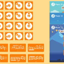 Zestaw dodatkowy Muzyka do zestawu STEM Coding