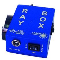 Eksperymentalne laserowo-ledowe źródło światła RAYBOX