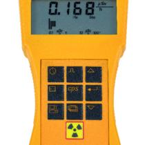 Licznik Geigera-Mullera z sygnalizatorem dźwiękowym i alarmem