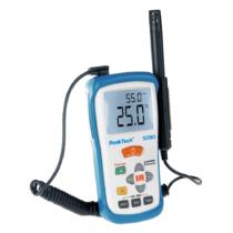 Termohigrometr na podczerwień, -50 ... + 500 ° C, wilgotność względna 5 .. 95%, temperatura powietrza