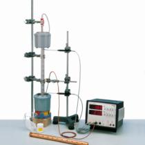 Kompletny zestaw eksperymentalny Przewodność cieplna metali
