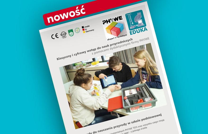 Klasyczny i cyfrowy wstęp do nauk przyrodniczych z pomocami dydaktycznymi firmy PHYWE